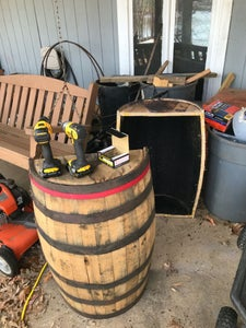 Cut Barrel in Half