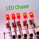 How to Make LED Chaser Using NE555 IC BC547