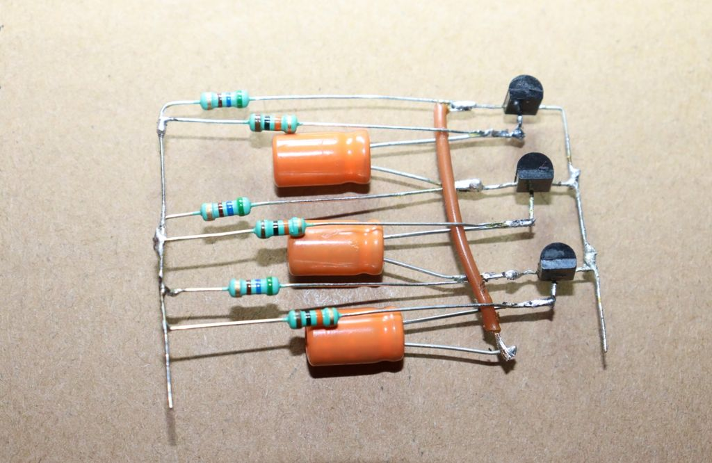 Picture of Connect All Wires of 10K and 560 Ohm Resistors