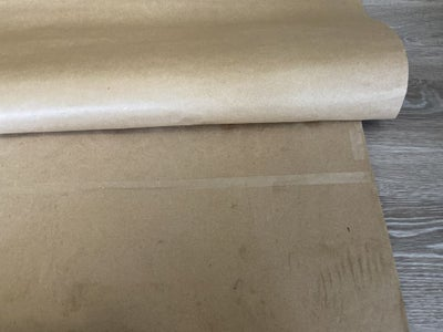 Attaching the Plain Brown Paper