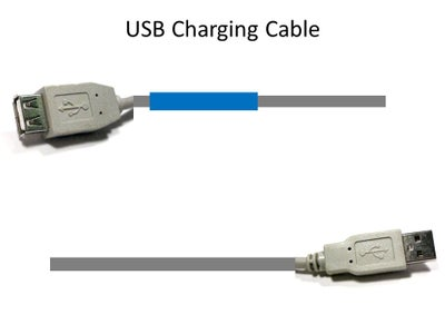 Assemble USB Charging Cable