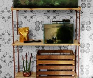 DIY Easy Shelves   Industrial