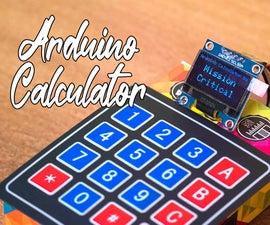 DIY Arduino Calculator Using OLED Display