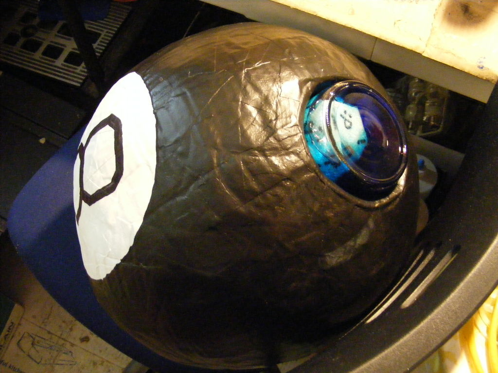 Picture of Giant Magic 8 Ball