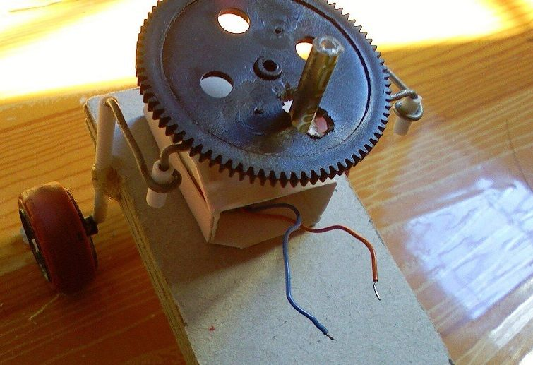 Picture of Step 5: Use Dedicated Motor