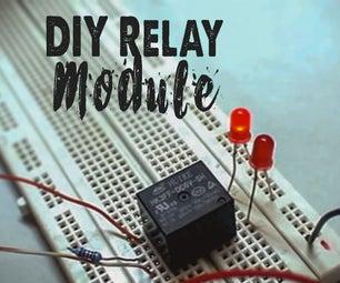 DIY Electronic Relay Module
