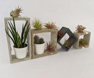 模块化混凝土花盆