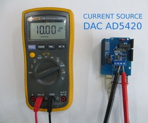 Current Source DAC AD5420 and Arduino