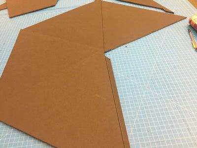 Building the Main Frame of the Pyramid Helmet