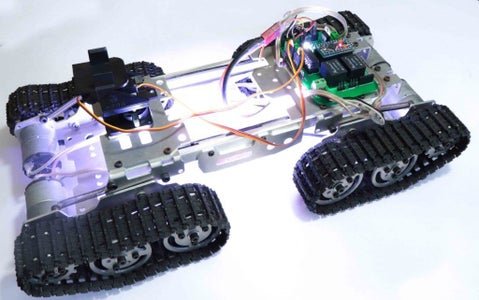 RC Tracked Robot Using Arduino – Step by Step