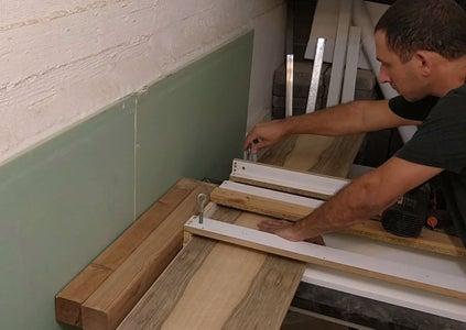 Cutting the Board - Step 1