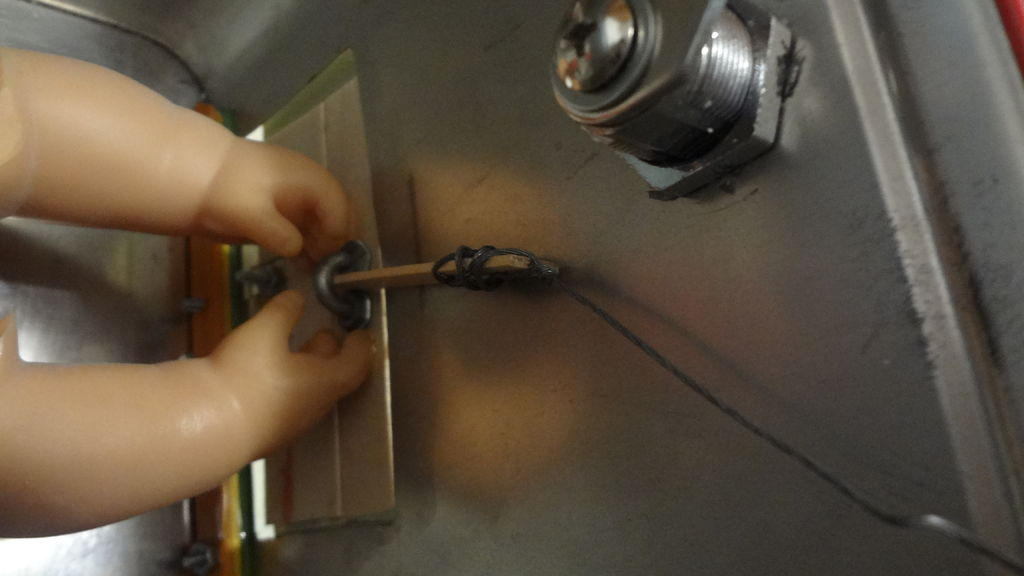 Picture of Installing the Latching Mechanism for the Candee Door.
