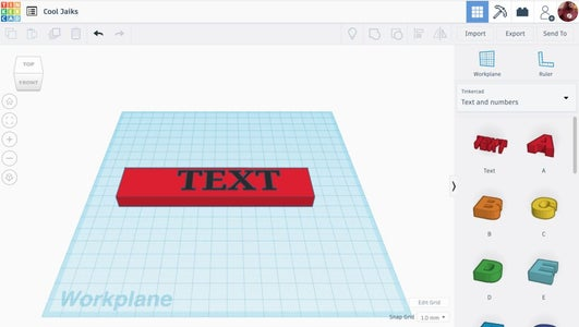 Making the Text