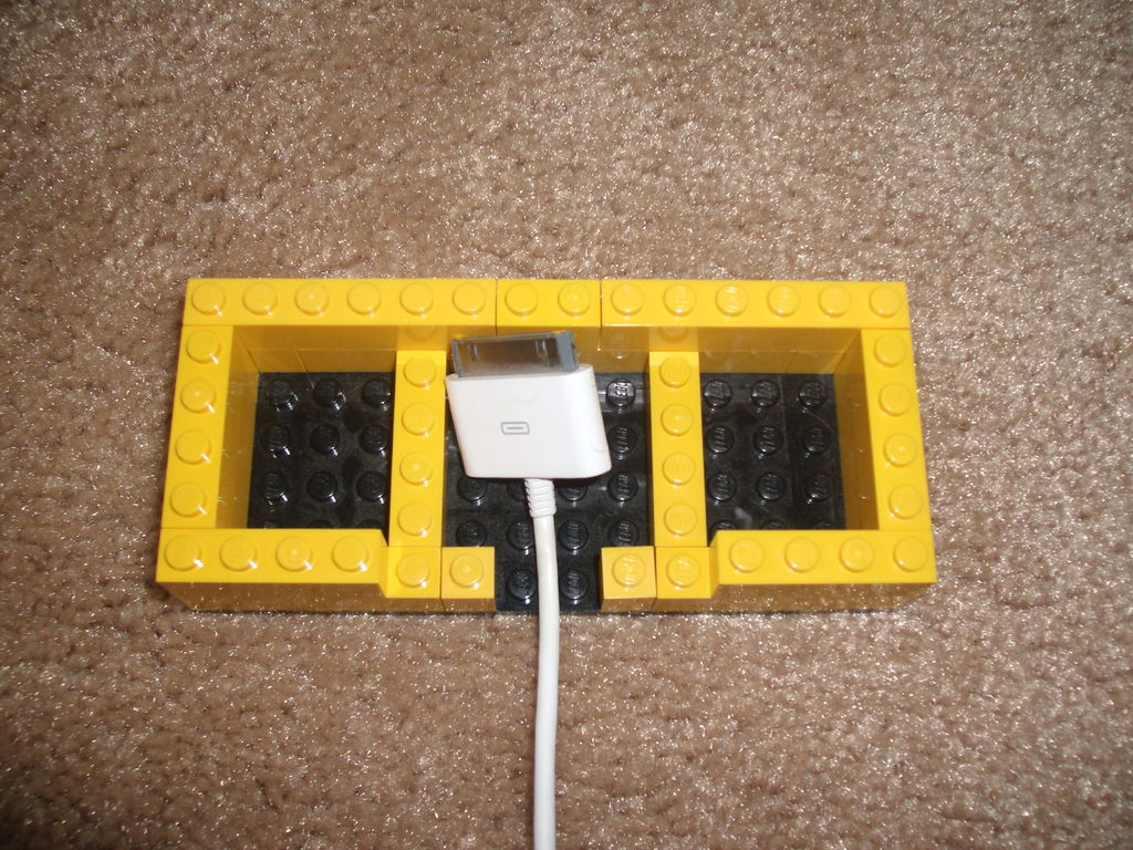Picture of Inserting the Charger