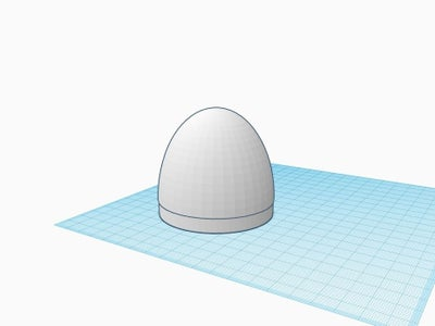 Designing Nose Pod Parts in Tinkercad
