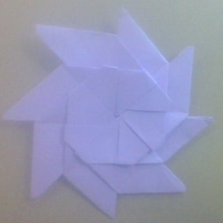 How to Make Origami Transforming Ninja Star : 11 Steps - Instructables | 320x320