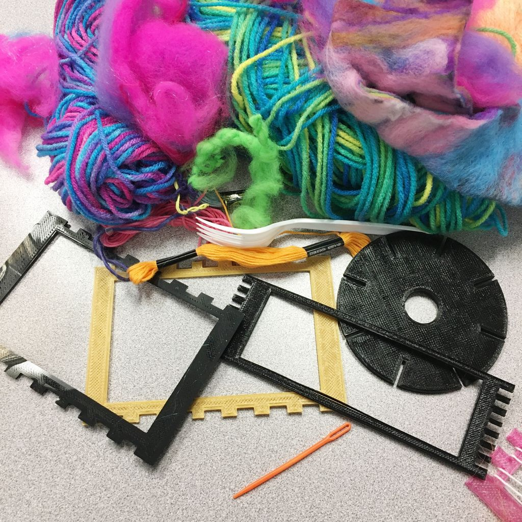 Picture of 3D Printed Mini Looms
