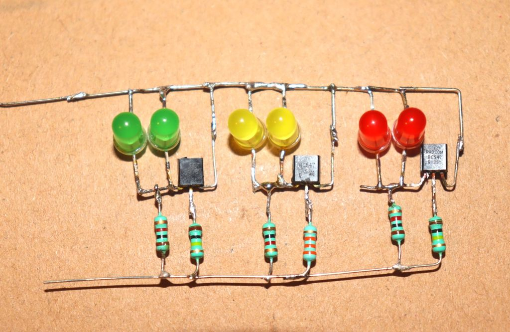 Picture of Connect Out Wires of All Resistors