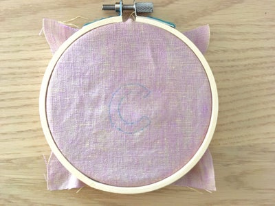 Embroider Letters