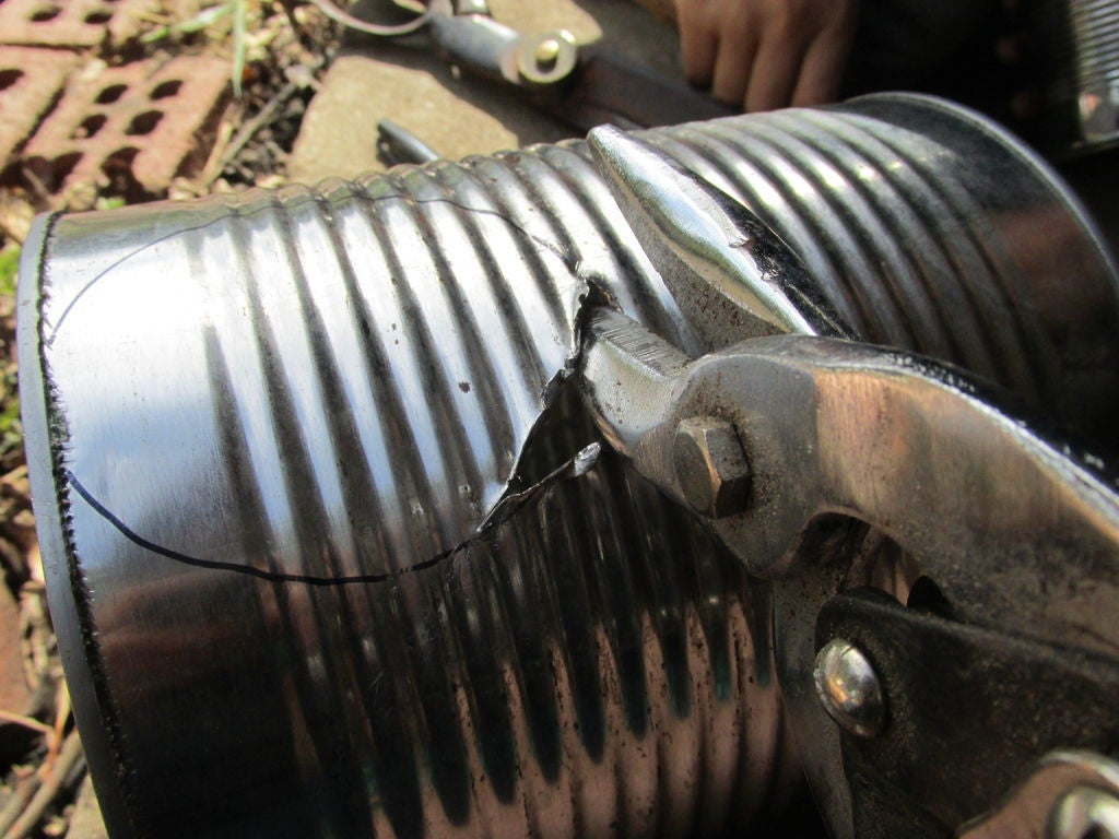 Picture of DIY Tin Can Meat Smoker