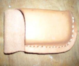 Leather Cell Phone/iPhone Belt Case