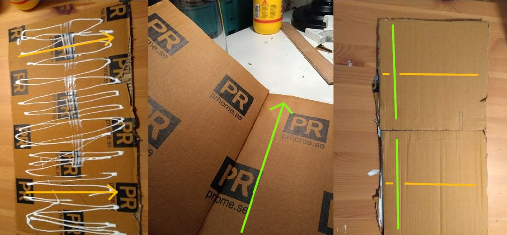 Picture of Make Cardboard Ply (Plycarb)