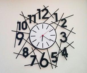 简易现代挂钟(3款)