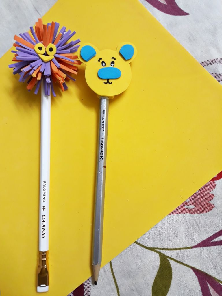 Picture of And Our Pencil Topper Is Ready