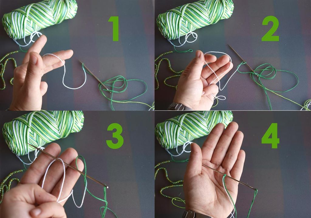Picture of MAKING THE DOUBLE STITCH: SECOND HALF