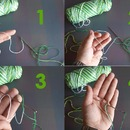 Step 4: MAKING THE DOUBLE STITCH: SECOND HALF
