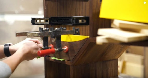 Install Drawer Fronts