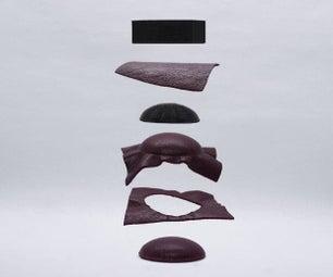 3D印花皮革模具