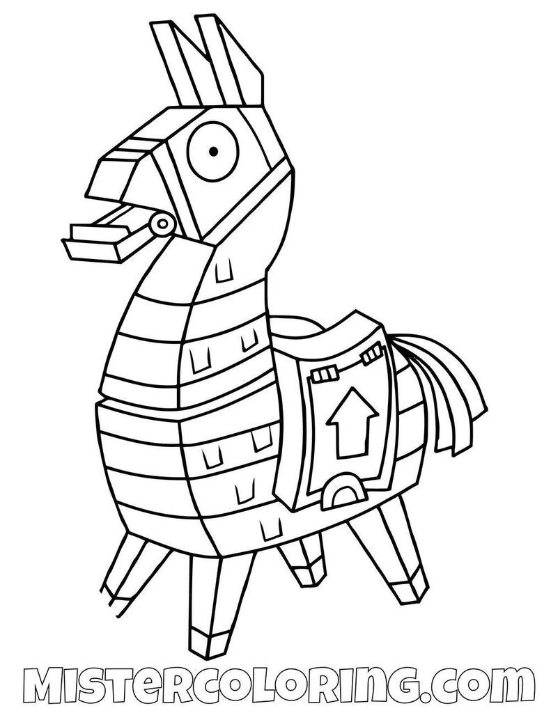 Llama Coloring Pages - Best Coloring Pages For Kids | 1024x791