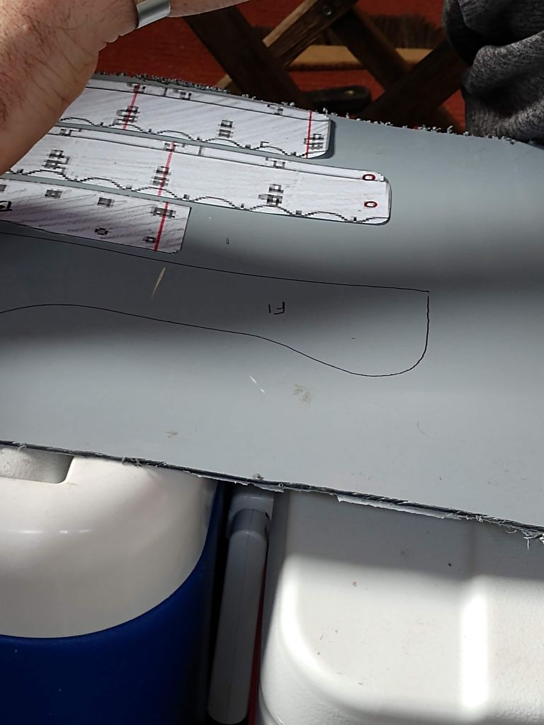 Picture of Laying Out the Templates