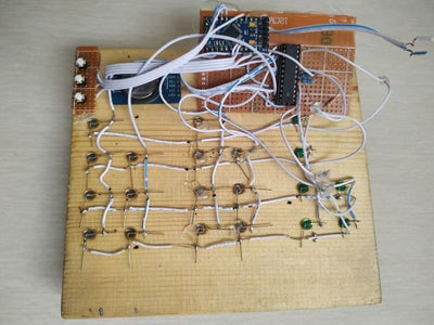 Connecting Circuit Board With the LEDs
