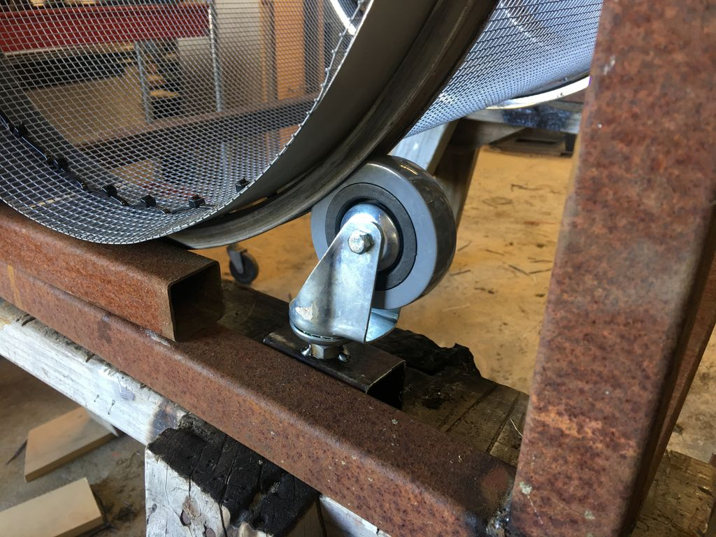 Picture of Building the Supporting Frame and Attaching Castors
