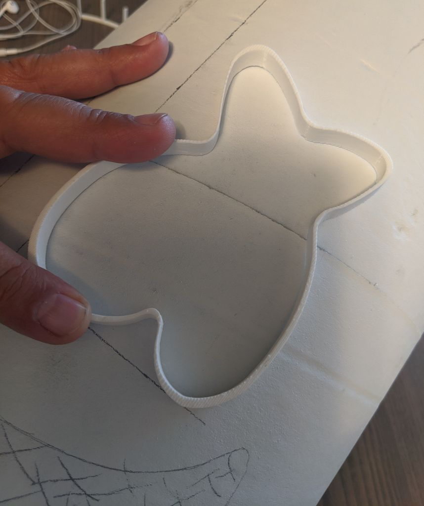 Picture of Cut Out the Helmet Base