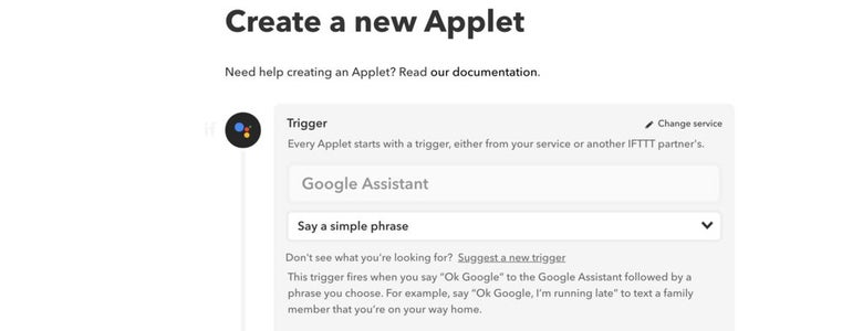 Create a New Applet