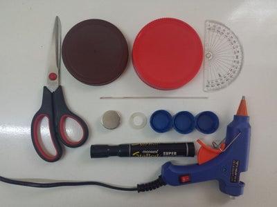 All Axis Non-Slip Screw & Tool Holder