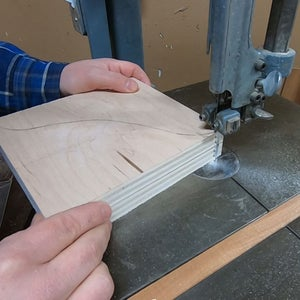 Cutting the Side Supports