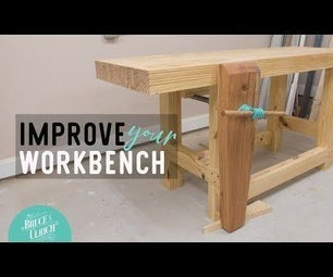 MAKING AND INSTALLING a LEG VISE