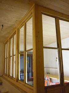 Building the Windows Structure and Smooth the Wall Surfaces