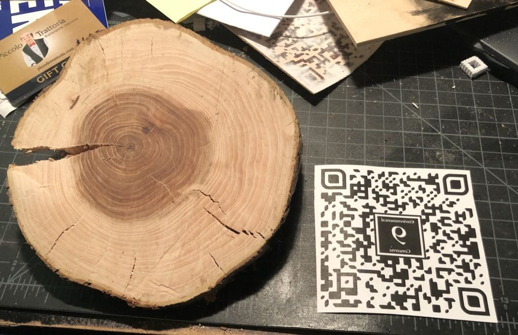 Picture of Print the QR Code