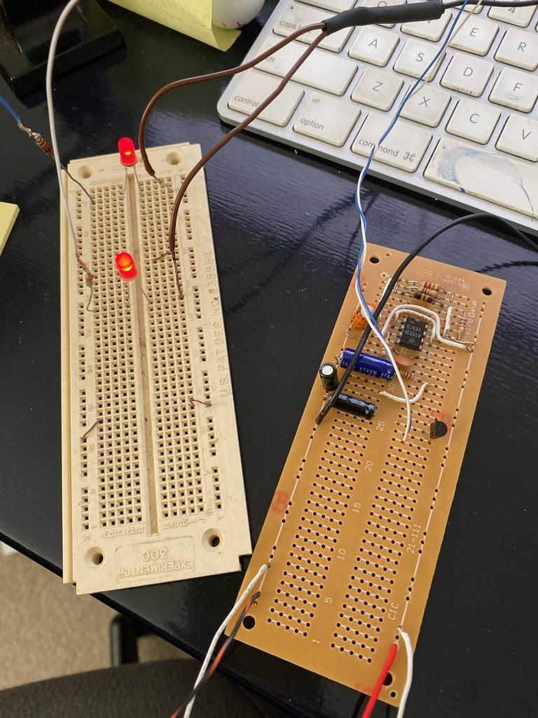Picture of Start Assembling the Circuit