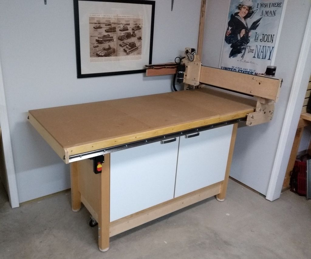 Low Cost DIY CNC Router thumbnail