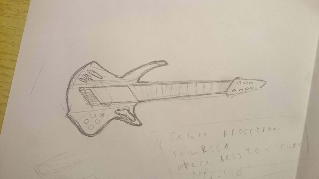 Picture of Guitar Creature