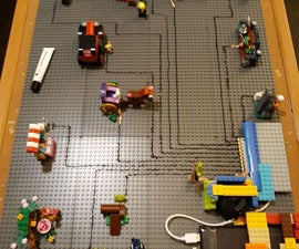 Lego Interactive Wall