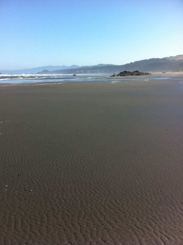 Picture of PULLING  IRON  From  GOLD BEACH