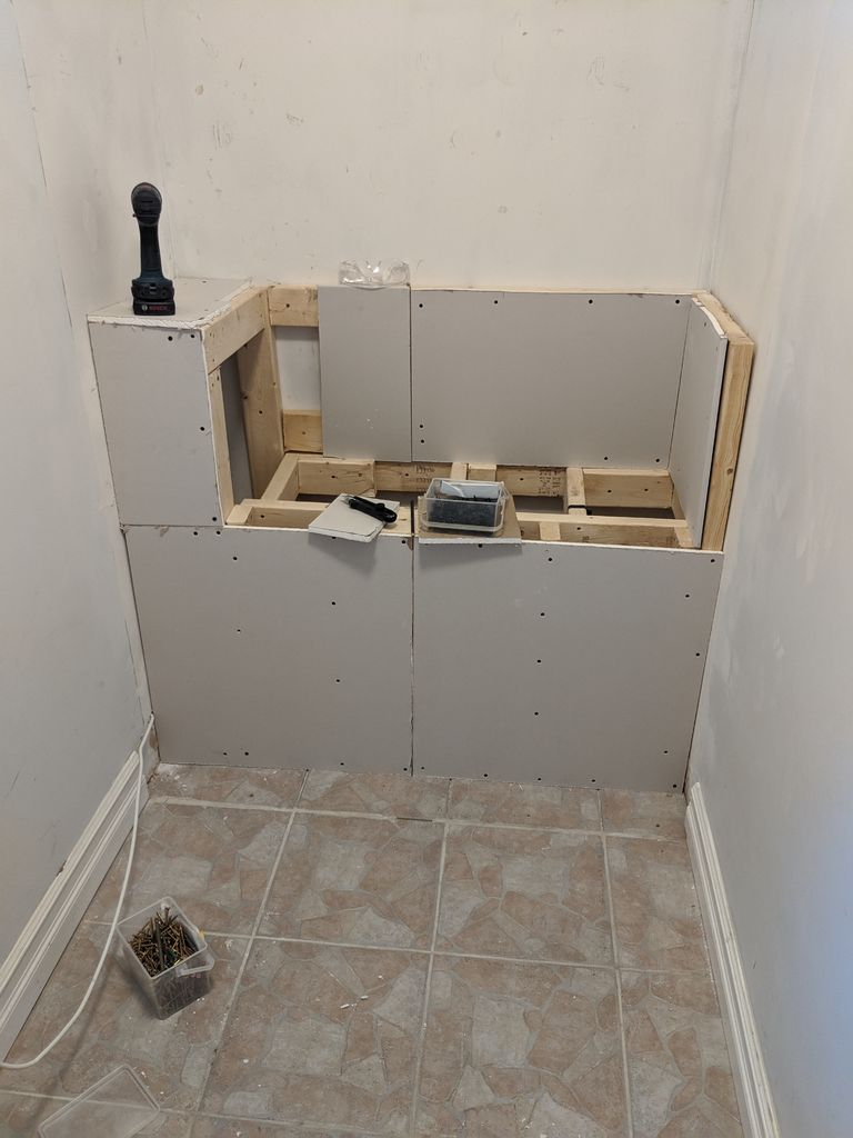 Picture of Drywall Bench