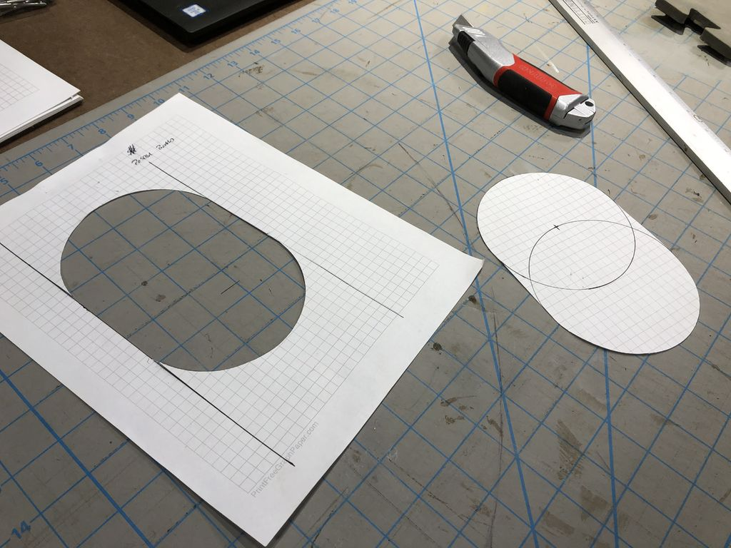 Picture of Elbow Pad Fabrication